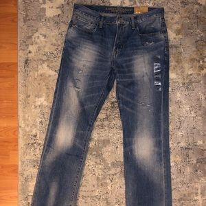 American eagle men's distressed jeans